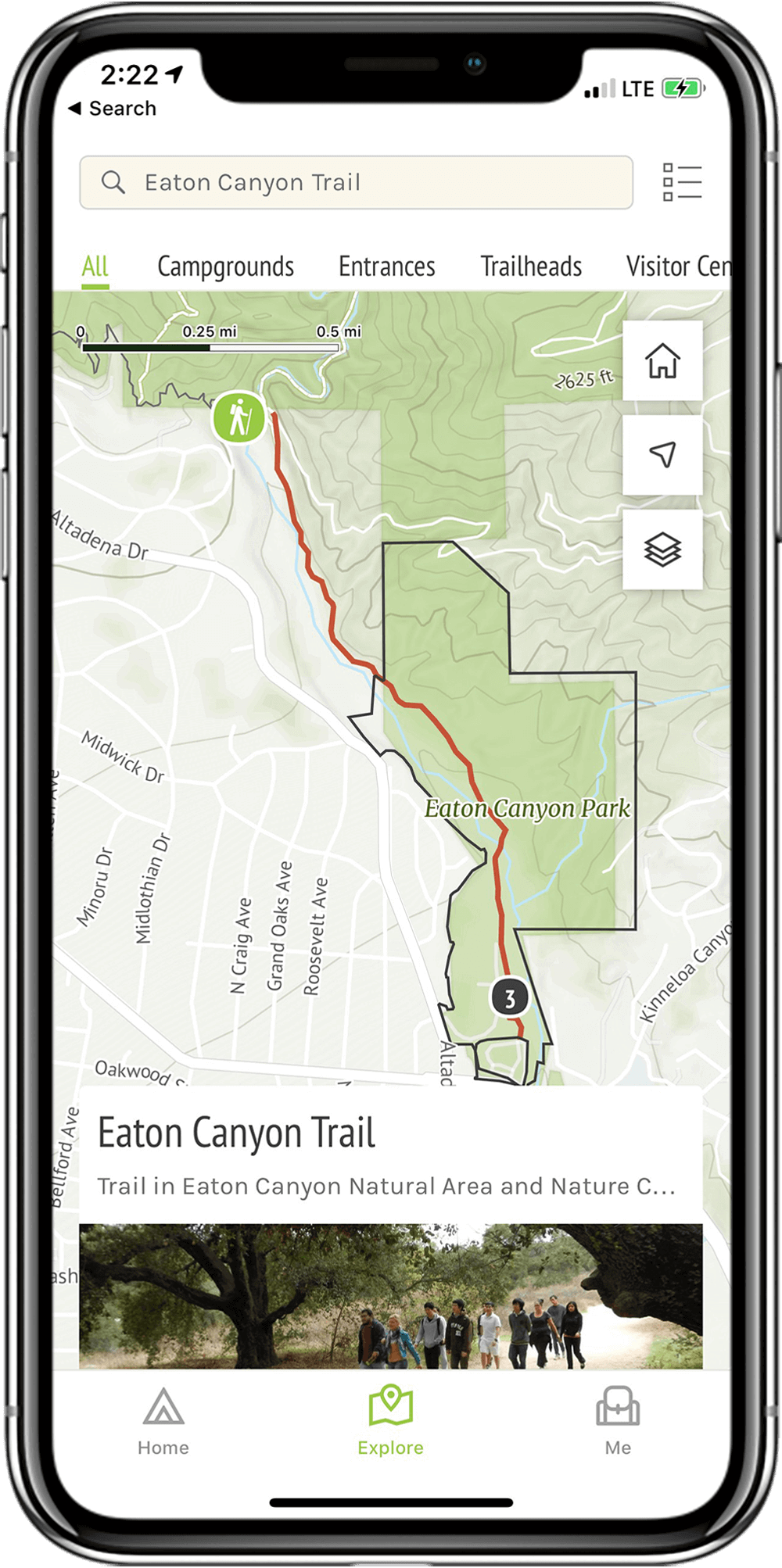 Trails - Department of Parks and Recreation
